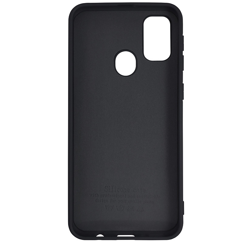 Чохол Silicone Case for Samsung M21/M30s Black (19) - 3