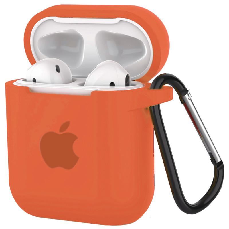 Silicone Case for AirPods Orange (13) - 1