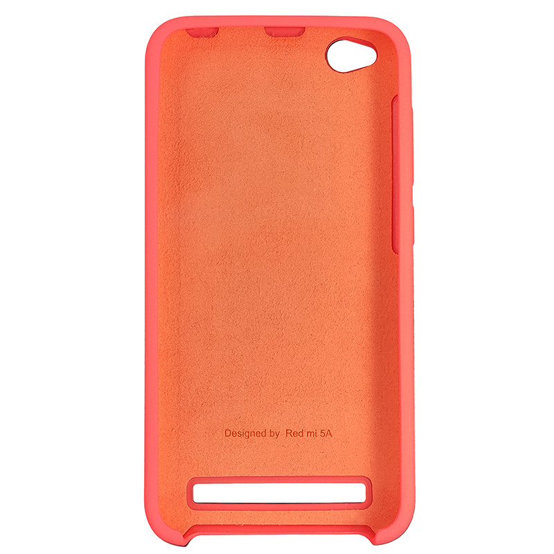 Чохол Silicone Case for Xiaomi Redmi 5A Peach Bl.Pink (29) - 3
