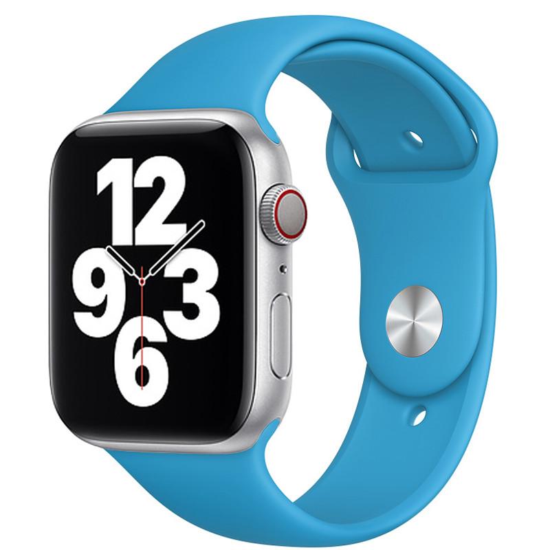 Ремінець для Apple Watch (38-40mm) Sport Band Sky Blue (16)  - 2