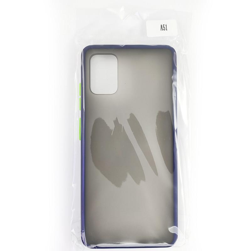 Чохол Totu Copy Gingle Series for Samsung A51/M40S Blue+Light Green - 4