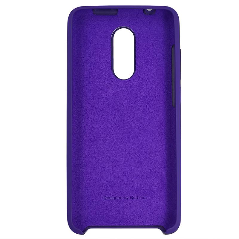 Чохол Silicone Case for Xiaomi Redmi 5 Violet (36) - 3