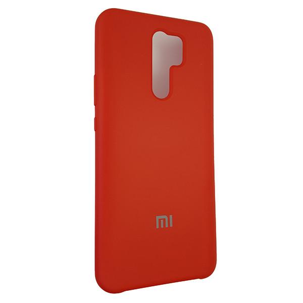Чохол Silicone Case for Xiaomi Redmi 9 Red (14) - 2
