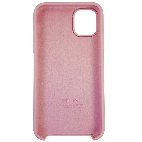Чохол Copy Silicone Case iPhone 11 Light Pink (6) - 4