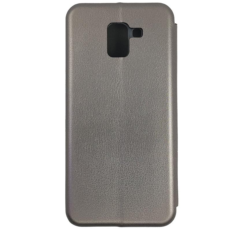 Чохол Book360 Samsung J6 2018 Gray - 1