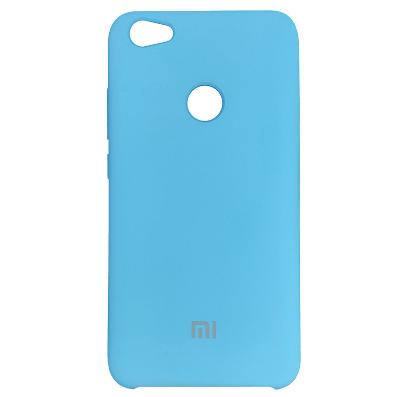 Чохол Silicone Case for Xiaomi Redmi Note 5A Deep Lake Blue (3) - 1