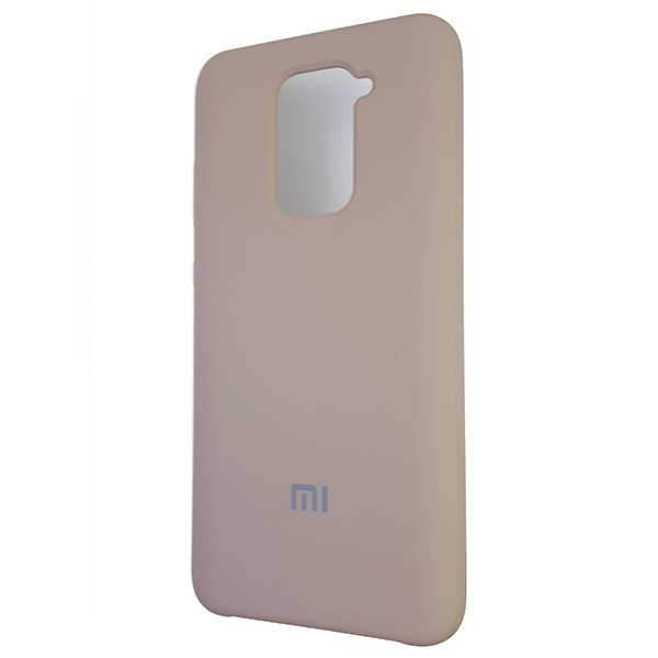 Чохол Silicone Case for Xiaomi Redmi Note 9 Sand Pink (19) - 1