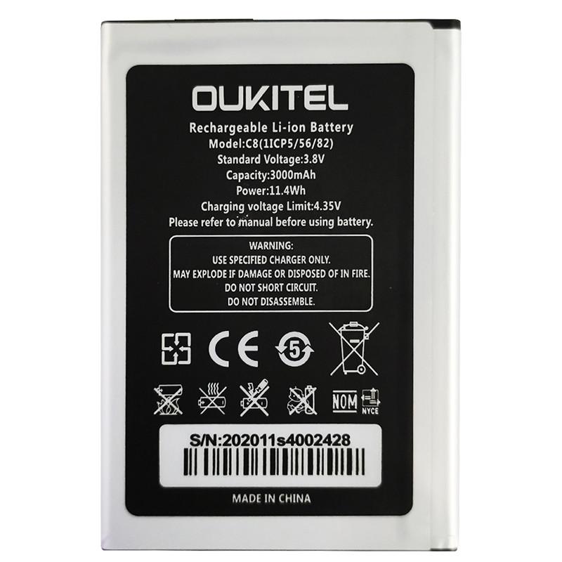 Акумулятор Original Oukitel C8 (3000 mAh) - 2