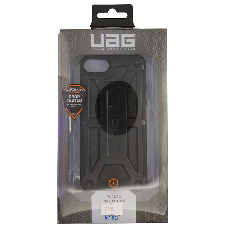 Чохол UAG Monarch iPhone 8 Black (HC) - 5