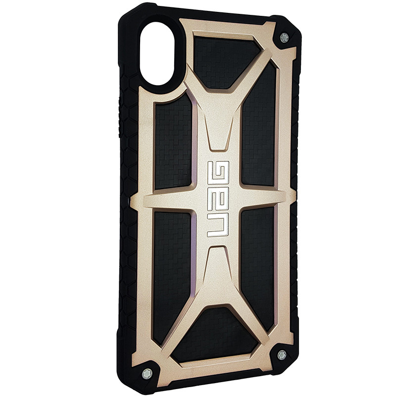 Чохол UAG Monarch iPhone XR Gold (HC) - 2