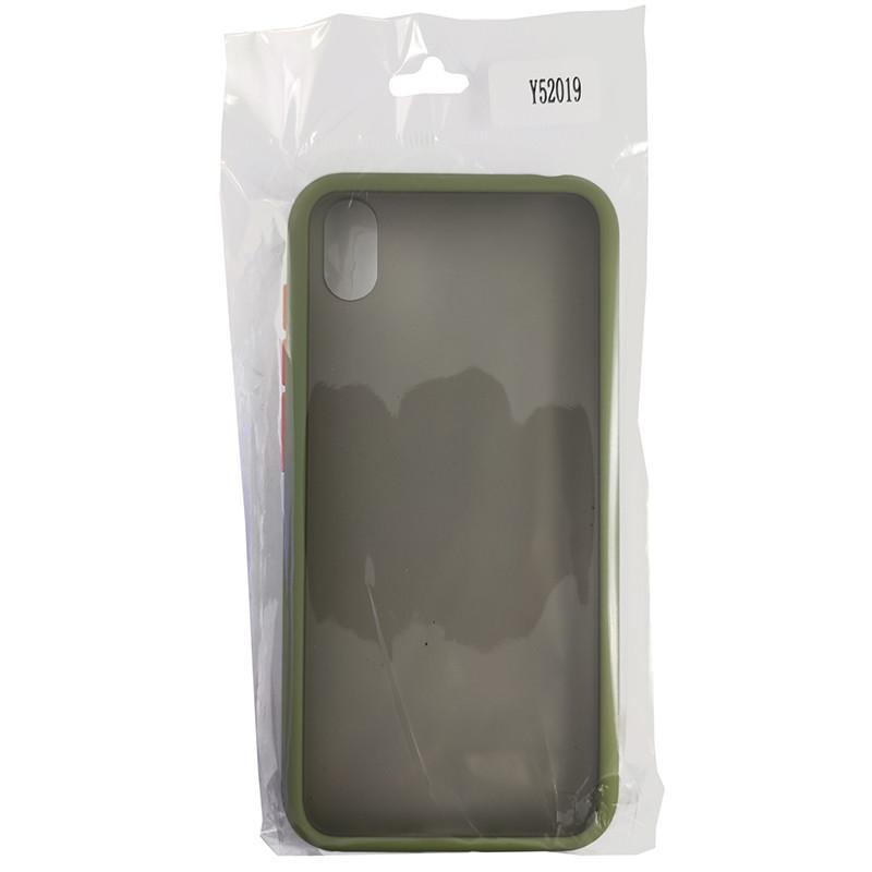 Чохол Totu Copy Gingle Series for Huawei Y5 2019 Dark Green+Orange - 3