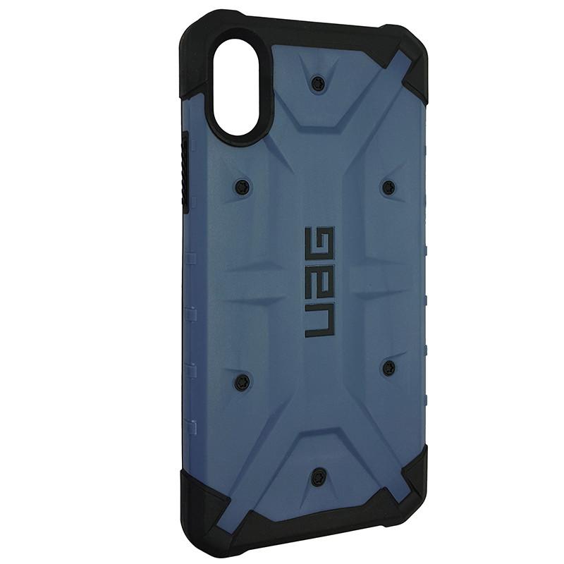 Чохол UAG Pathfinder iPhone X/XS Dark Blue (HC) - 2