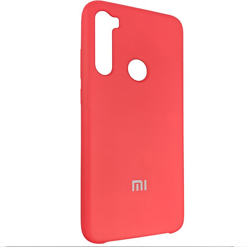 Чохол Silicone Case for Xiaomi Redmi Note 8 Red (14) - 2