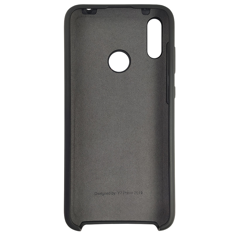 Чохол Silicone Case for Huawei Y7 2019 Black (18) - 3