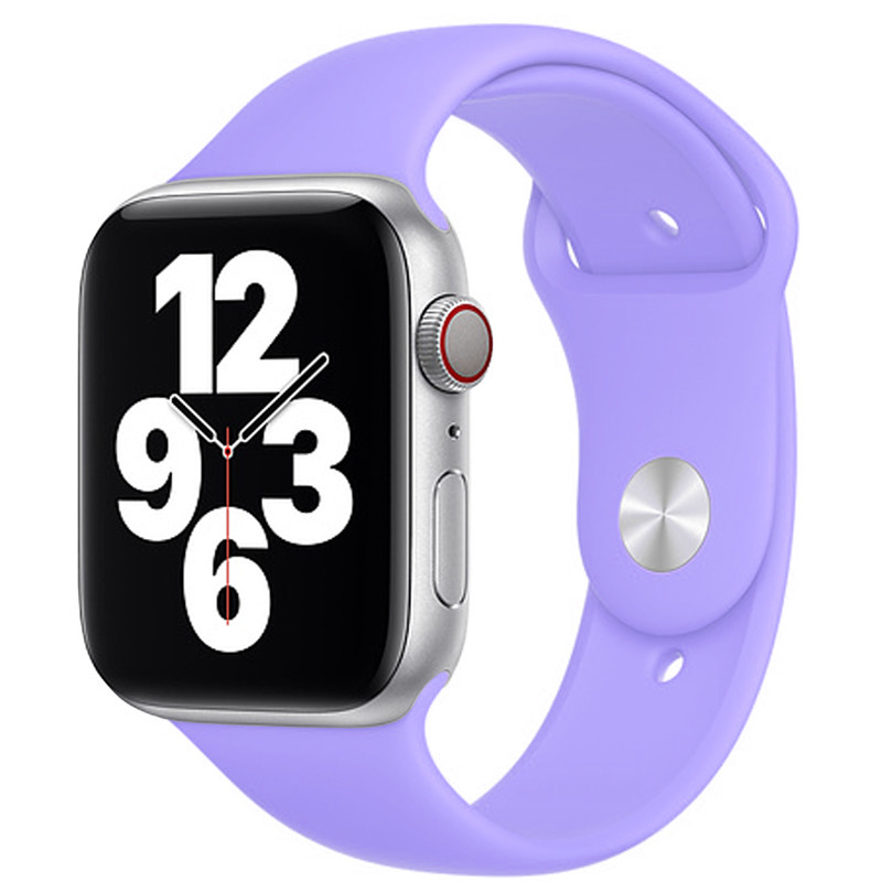 Ремінець для Apple Watch (38-40mm) Sport Band Light Violet (41)  - 2
