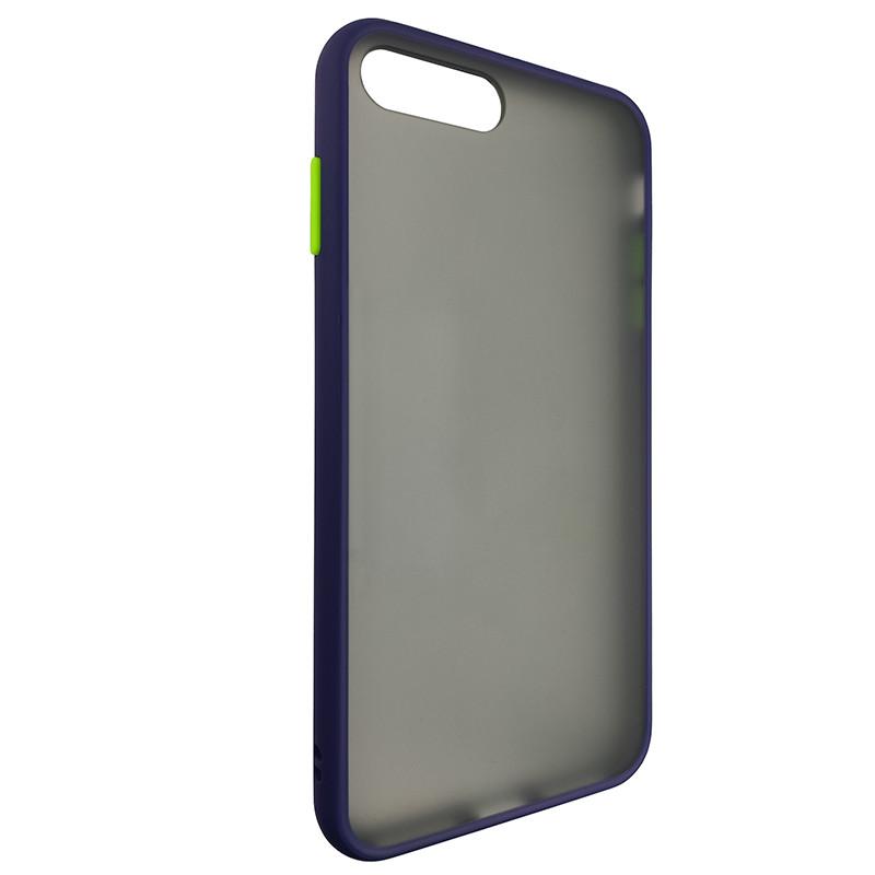 Чохол Totu Copy Gingle Series for iPhone 7/8 Plus Blue+Light Green - 1