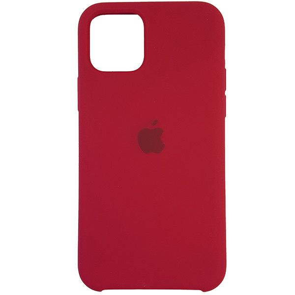 Чохол Copy Silicone Case iPhone 11 Pro Rose Red (36) - 3