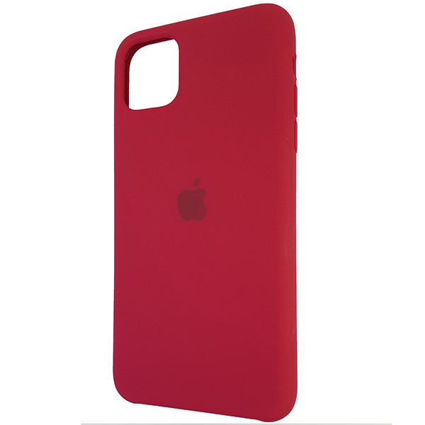 Чохол Copy Silicone Case iPhone 11 Pro Max Rose Red (36) - 2