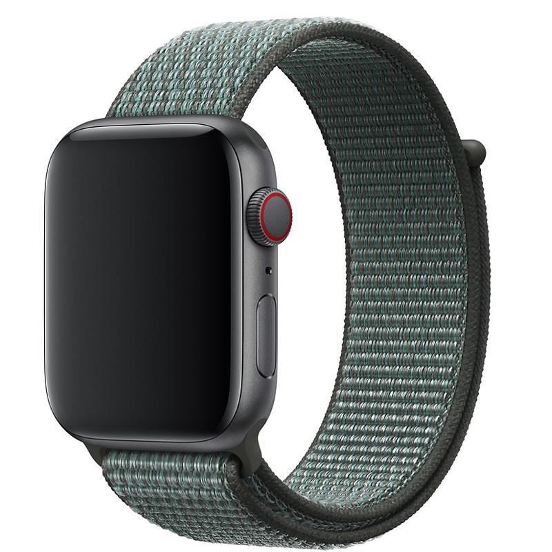 Ремінець для Apple Watch (38-40mm) Sport Loop Nike Mint/Black - 2