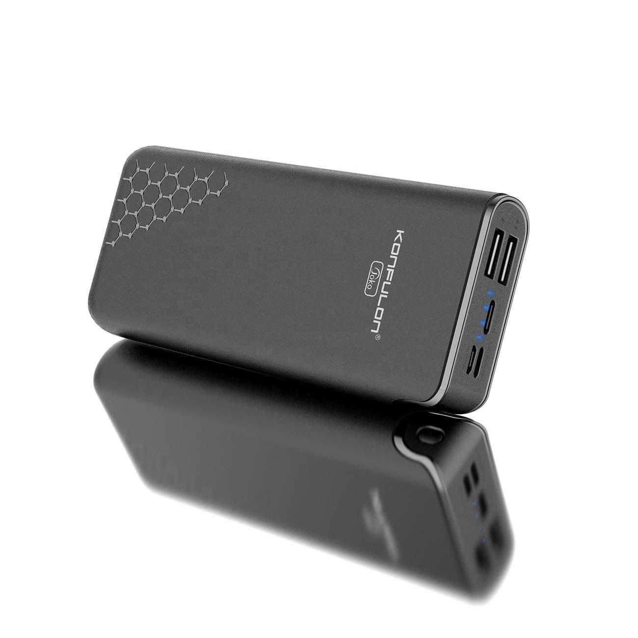 Power Bank Konfulon A7 20000 mAh Black - 1