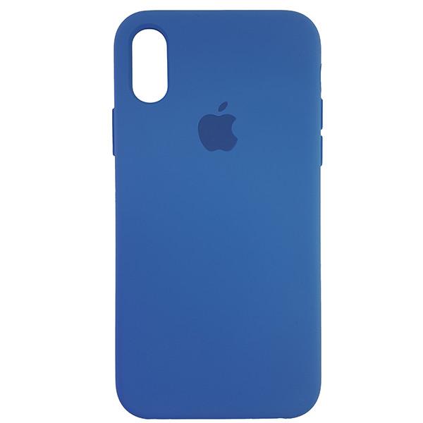 Чохол Copy Silicone Case iPhone X/XS Azure (24) - 3