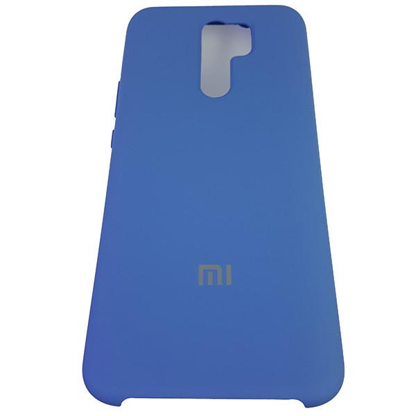 Чохол Silicone Case for Xiaomi Redmi 9 Blue (3) - 4