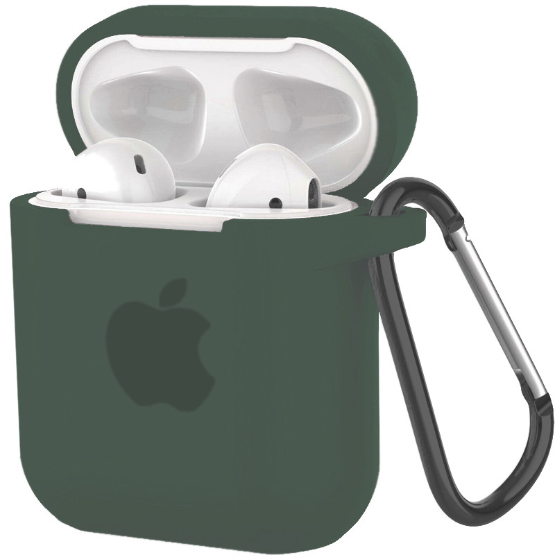 Silicone Case for AirPods 1/2 Wood Green (58) - 1