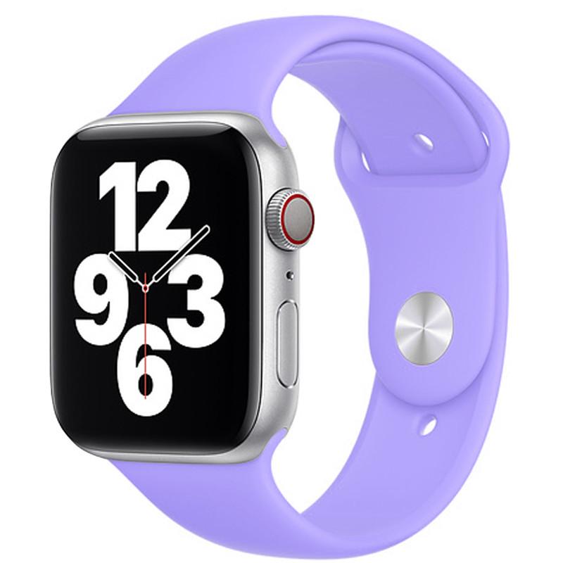 Ремінець для Apple Watch (42-44mm) Sport Band Light Violet (41)  - 2