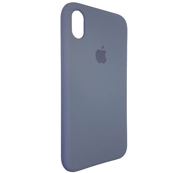Чохол Copy Silicone Case iPhone XR Gray (46) - 1