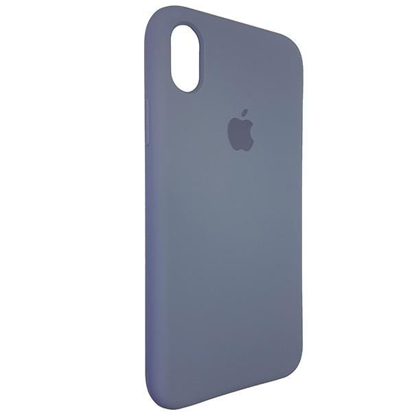 Чехол Original Soft Case iPhone XR Gray (46) - 1