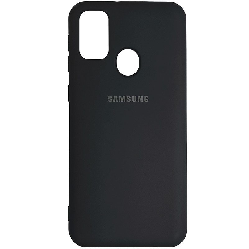 Чохол Silicone Case for Samsung M21/M30s Black (19) - 1