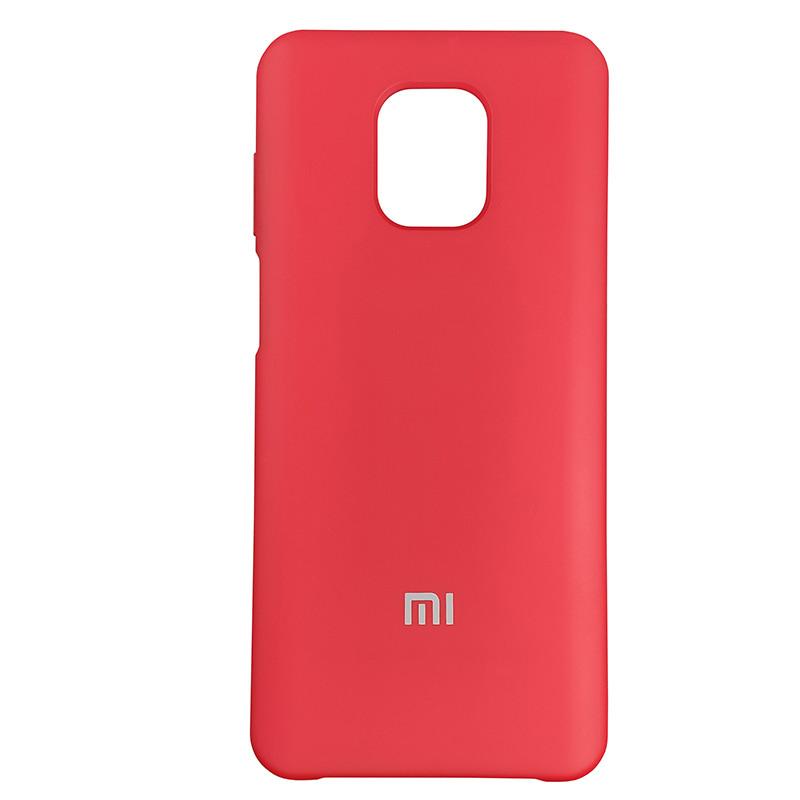 Чохол Silicone Case for Xiaomi Redmi Note 9S/9 Pro Red (18) - 1