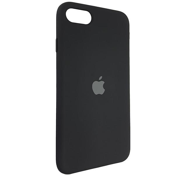 Чохол Copy Silicone Case iPhone SE 2020 Black (18) - 1
