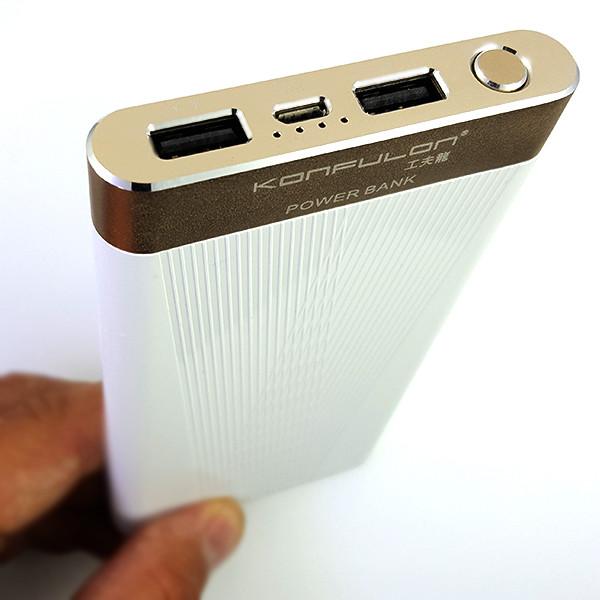 Power Bank Konfulon X6P 10000 mAh White - 2