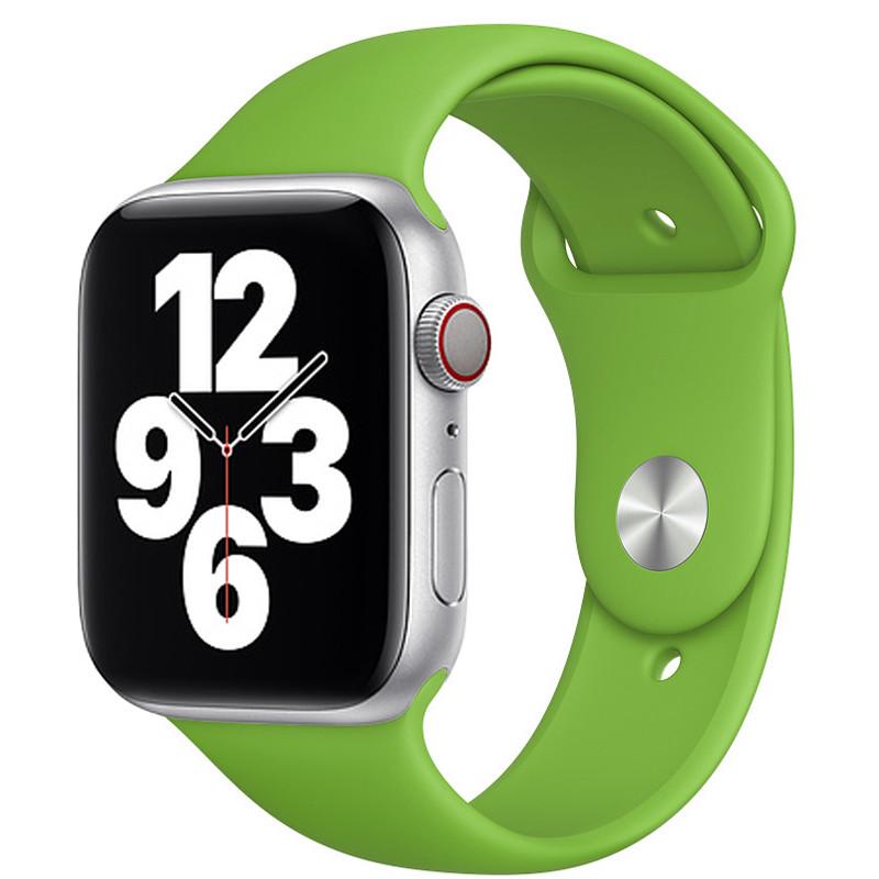 Ремінець для Apple Watch (38-40mm) Sport Band Green (31)  - 2