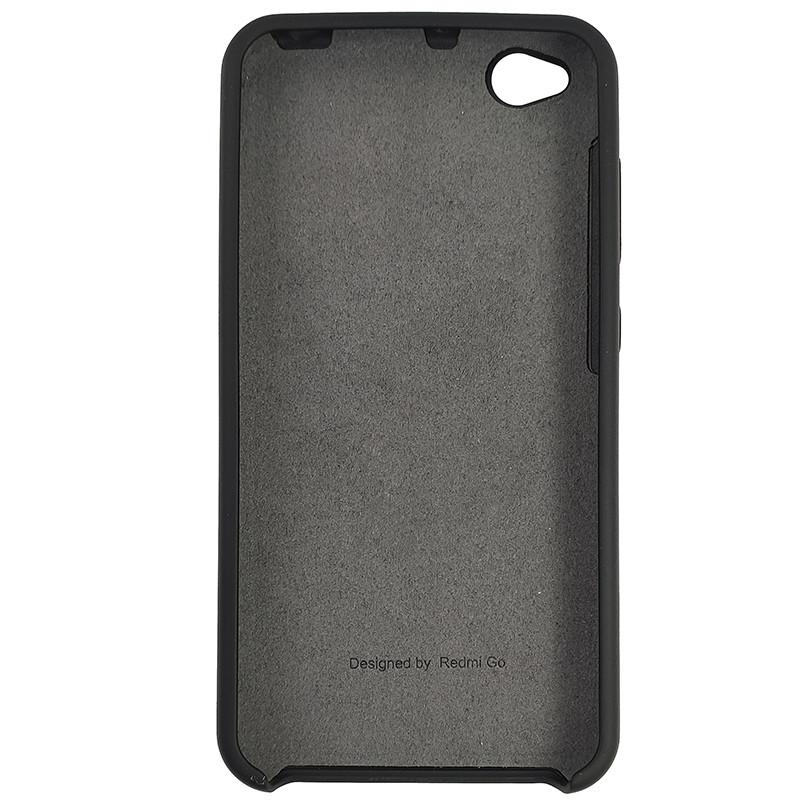 Чохол Silicone Case for Xiaomi Redmi Go Black (18) - 3