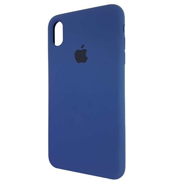 Чохол Copy Silicone Case iPhone XS Max Dark Blue (10) - 2