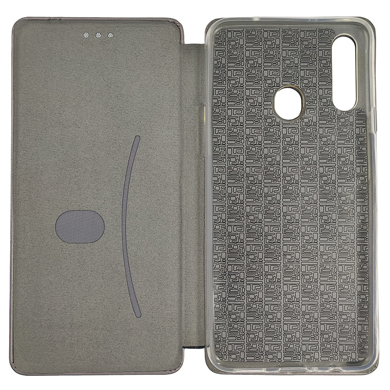 Чохол Book360 Samsung A20S Silver - 3