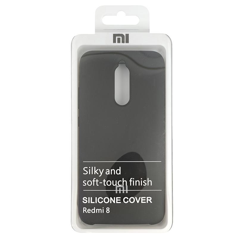 Чохол Silicone Case for Xiaomi Redmi 8 Black (18) - 4