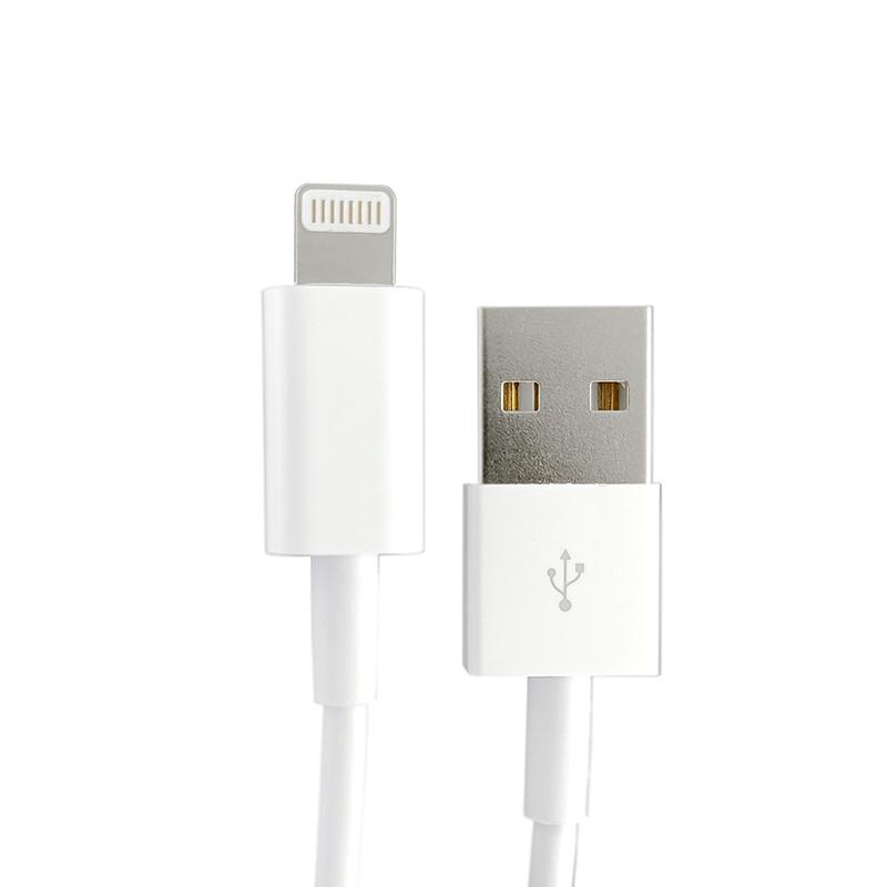 Кабель Apple Lightning 1m, (MD818ZM/A), White - 1