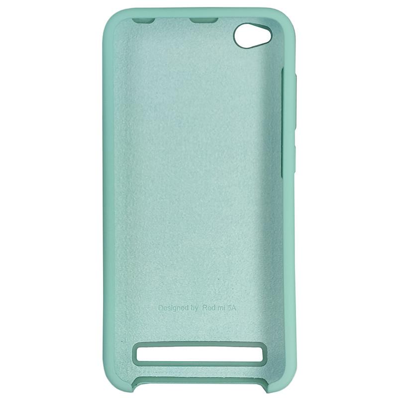 Чохол Silicone Case for Xiaomi Redmi 5A Ice Sea Blue (21) - 3