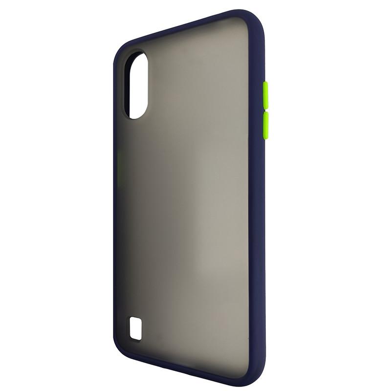 Чохол Totu Copy Gingle Series for Samsung A01 (A015) Blue+Light Green - 3