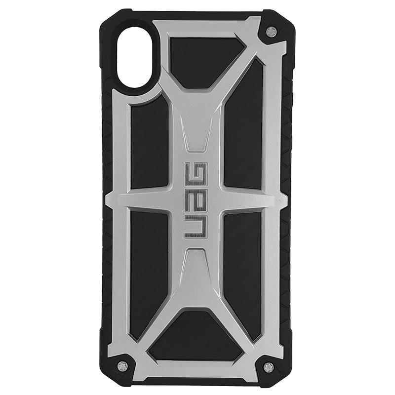 Чохол UAG Monarch iPhone XR Silver (HC) - 4