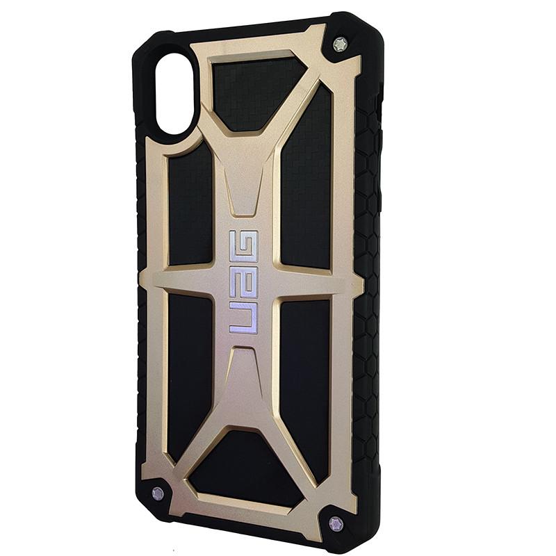 Чохол UAG Monarch iPhone XR Gold (HC) - 1