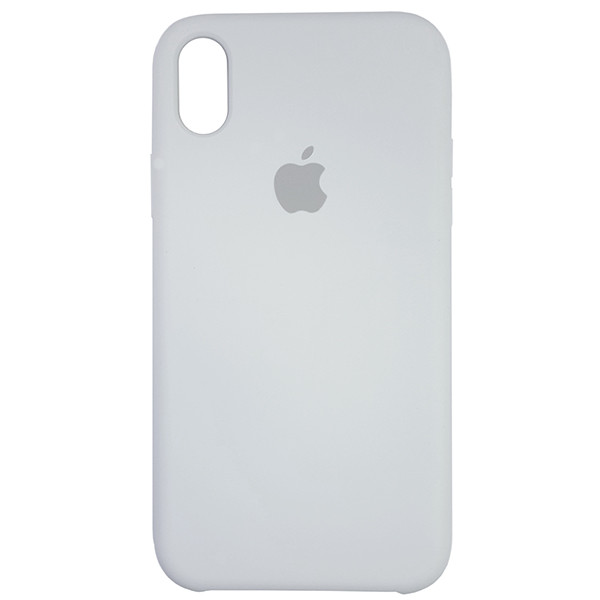 Чохол Copy Silicone Case iPhone XR White (9) - 3