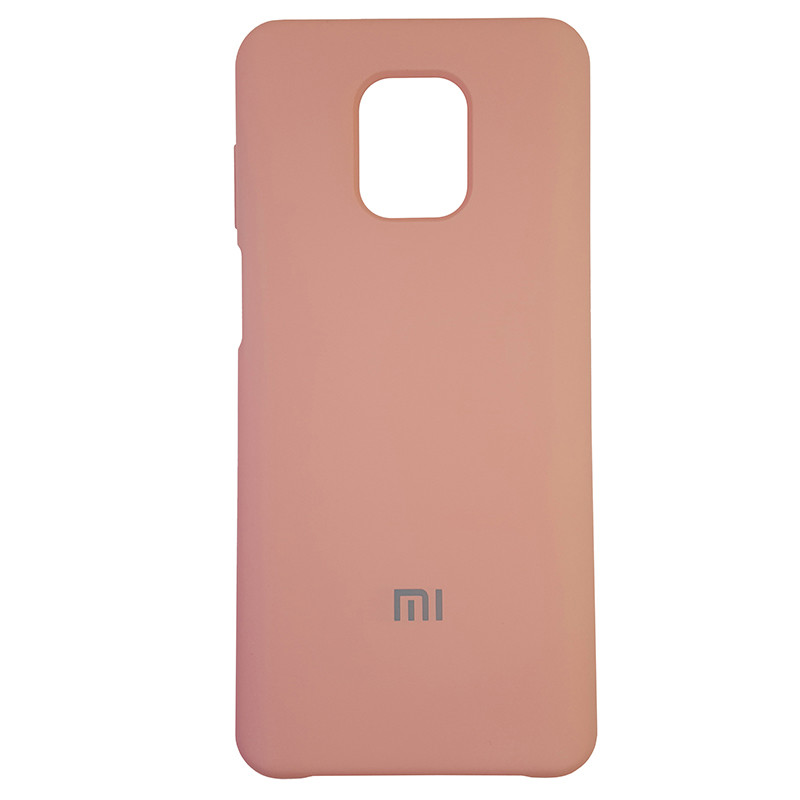 Чохол Silicone Case for Xiaomi Redmi Note 9S/9 Pro Light Pink (12) - 1