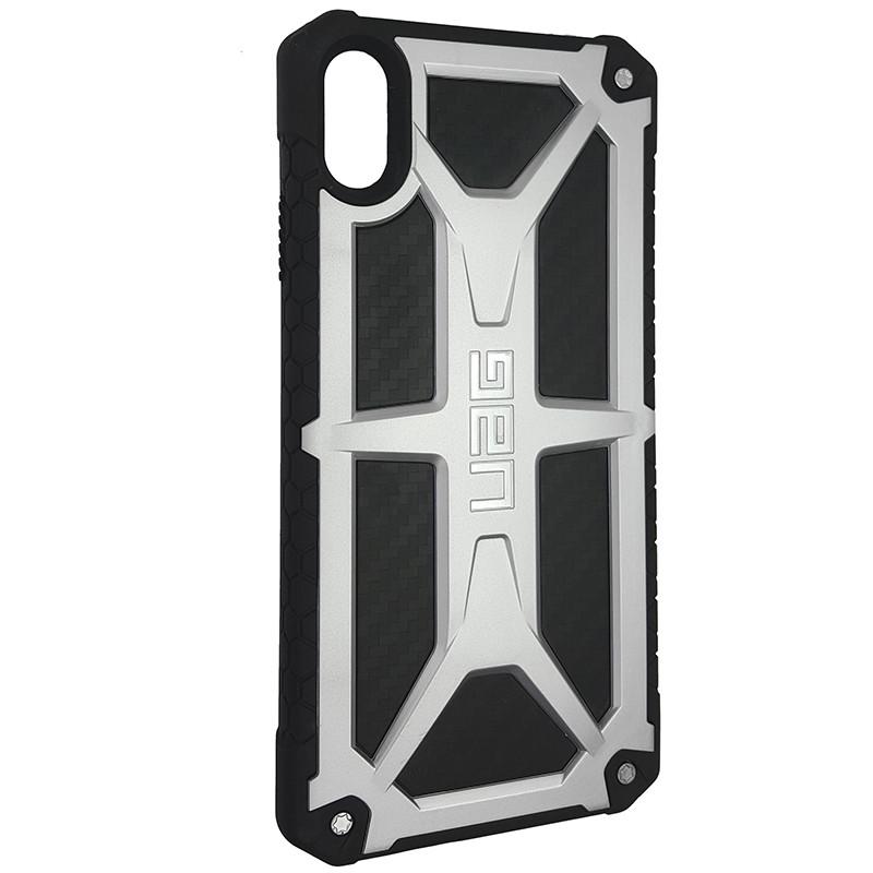 Чохол UAG Monarch iPhone XS Max Silver (HC) - 2