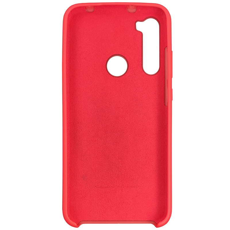 Чохол Silicone Case for Xiaomi Redmi Note 8 Red (14) - 3
