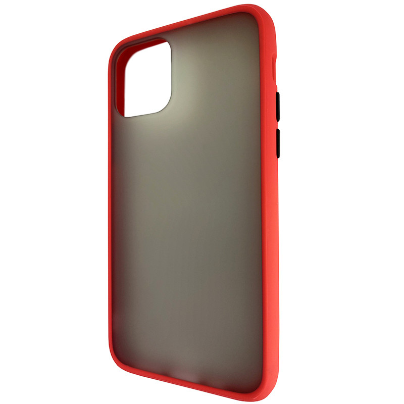 Чохол Totu Copy Gingle Series for iPhone 11 Pro Red+Black - 2