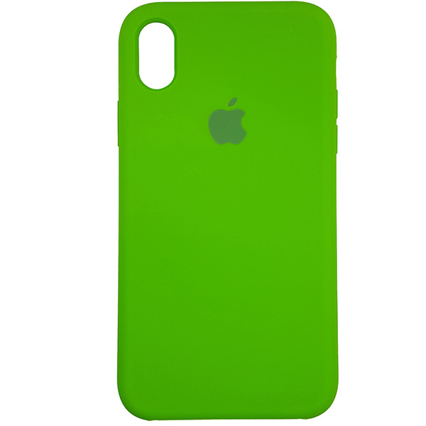 Чохол Copy Silicone Case iPhone XR Green (31) - 3